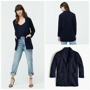 J Crew Open Sweater Blazer